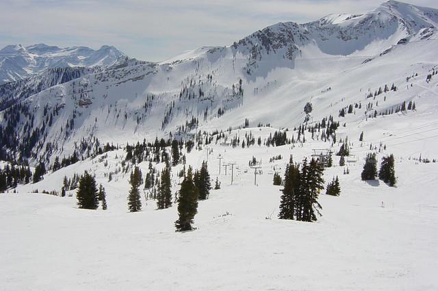 Skiing in Utah by CC user edoug on Flickr