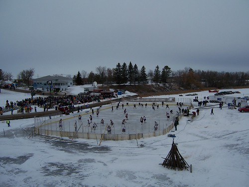 Baudette bay hockey classic arvid 39 s fishing report for Rainy river fishing reports