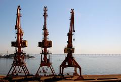 vehicle, oil field,