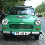 Green Trabant