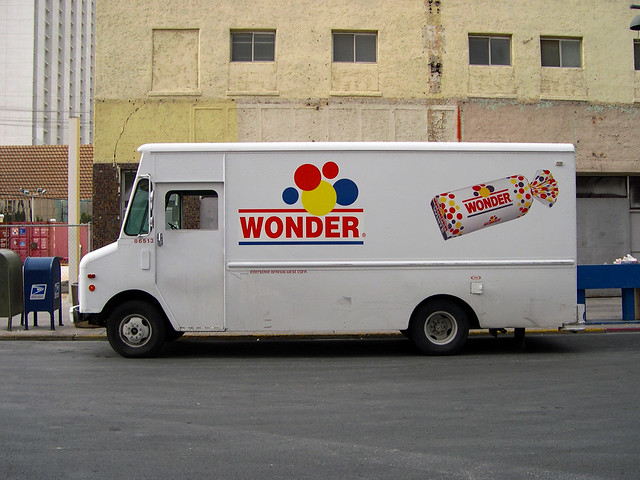 Hostess Cakes & Wonder Bread Delivery Truck a photo on