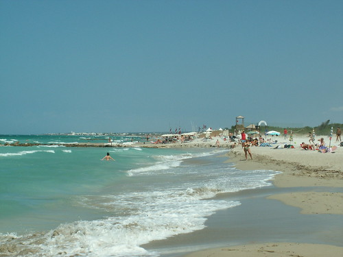 Torre Mozza (Ugento) - La spiaggia