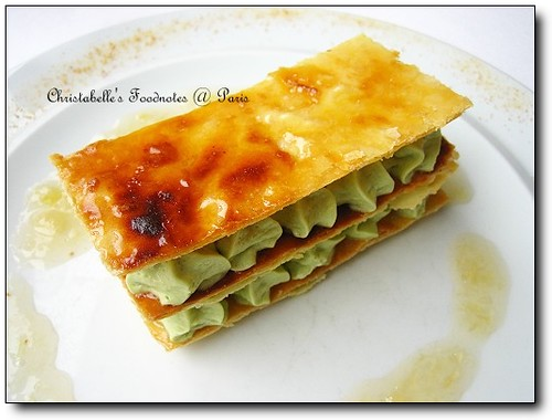 [七區] Les Clos des Gourmets: 酪梨千層派(Avacado Millefeuille)