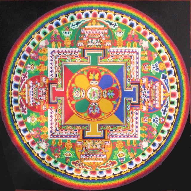 Sand Painting - Mandala
