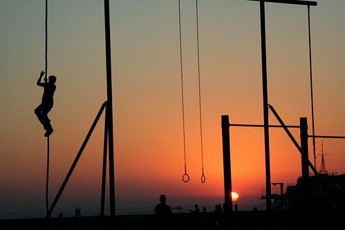 Rope Climbing, Santa Monica