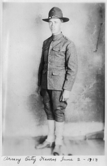 Soldier, Army City, Kansas, 1918