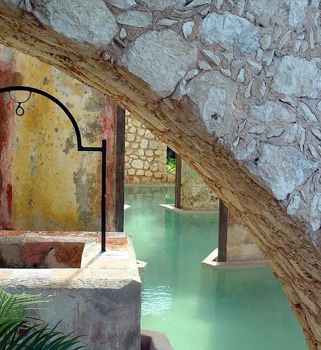 Hacienda Alberca B&W (Redux)