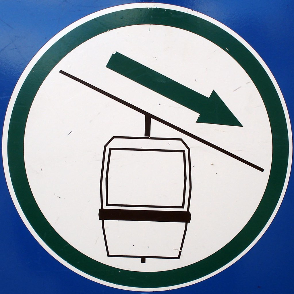 Down gondola