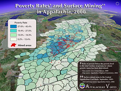Poverty Rates and Surface Mining in Appalachia