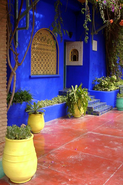 Garden of yves saint laurent marrakech morocco flickr for Jardin yves saint laurent maroc