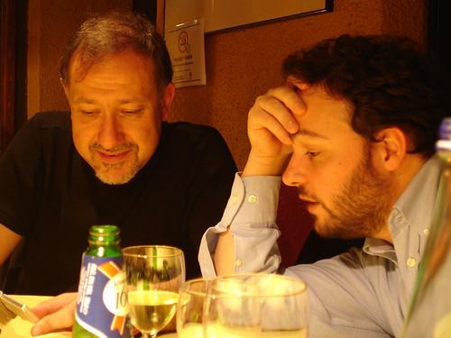 Carlos Scolari i Maurizio Poletto.