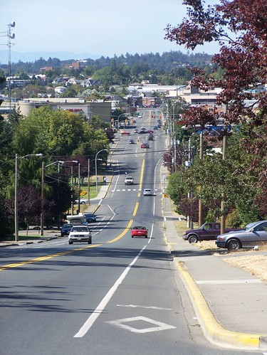 downhill bike lane cloverdale