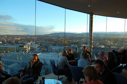 Gravity Bar @ Guinness Storehouse