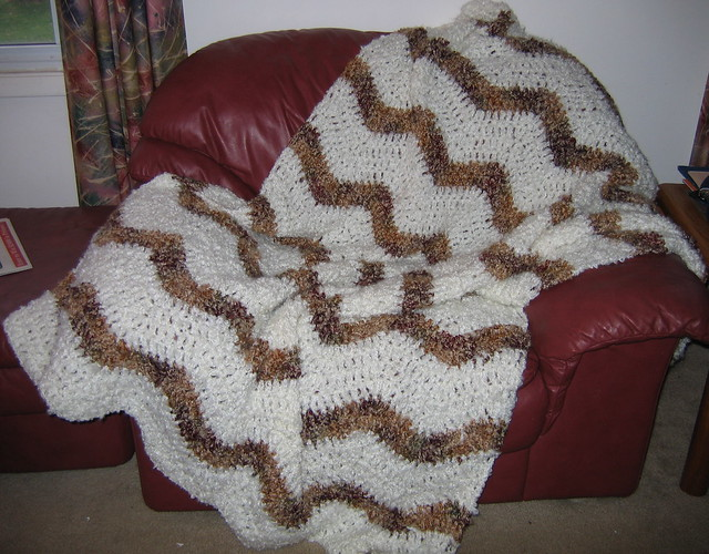 Knitting Patterns Red Heart Light Lofty : Light & Lofty Afghan A gift afghan I crocheted this ...