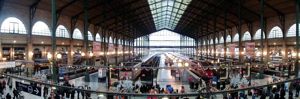 Gare du Nord panorama