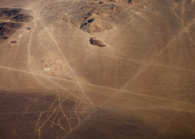 Scratches in the Desert