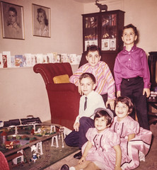 Christmas, cousins, and Lionel trains, 1961