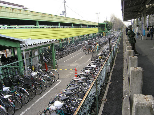 Bike Train Station