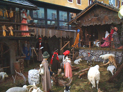 stall(0.0), christmas decoration(0.0), tradition(1.0), middle ages(1.0), nativity scene(1.0),