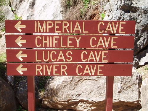 Cave signs - Jenolan