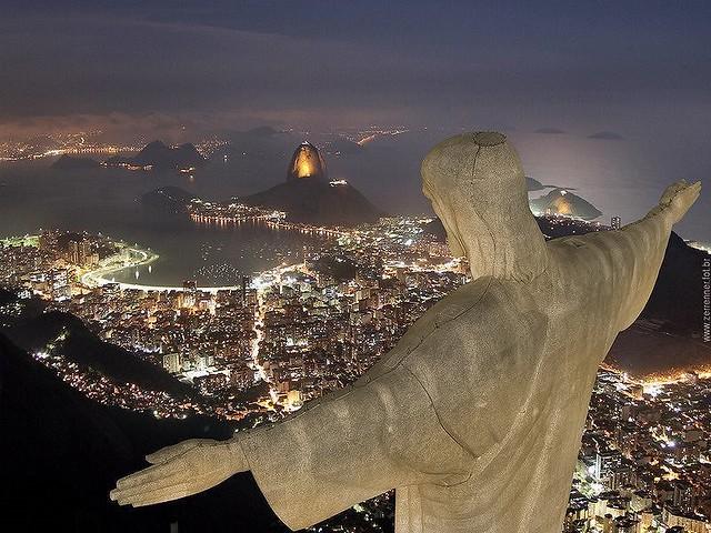 Cristo Redentor - Rio de Janeiro - Brasil - The Statue of the Christ of Redeemer - Rio de Janeiro - Brazil