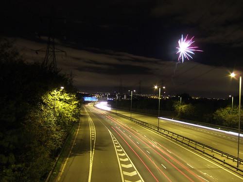 M6 J7 Fireworks