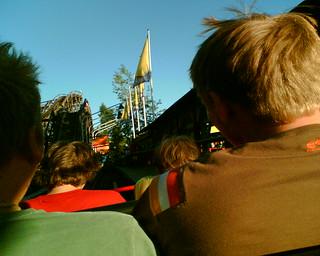 Bilde av Vuoristorata. suomi finland helsinki 6230i linnanmäki vuoristorata