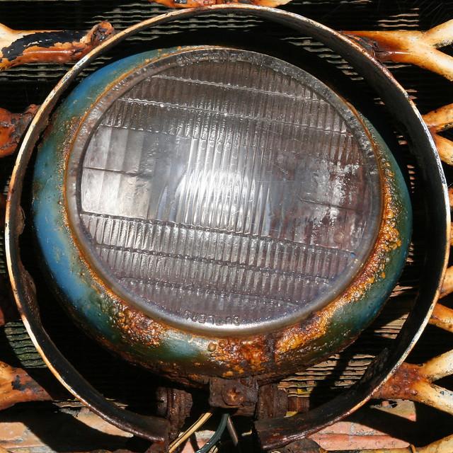 Farm Equipment Headlights : Tractor headlight cromer norfolk england uk by leo