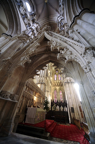 Sanctuary, Beverley Minster Yorks UK