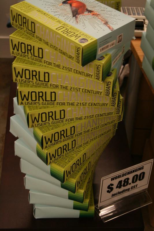 WorldChanging Book Spiral