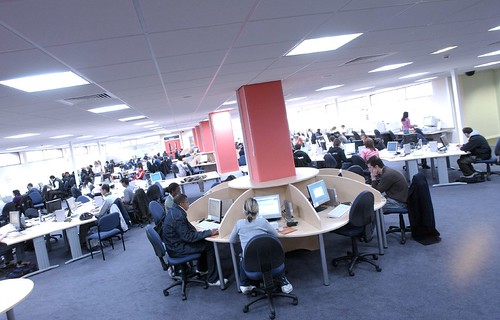 First Floor Library, City Campus West, Northumbria University