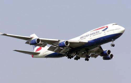 BA Boeing 747-400