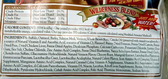 Wilderness Dog Food Reviews
