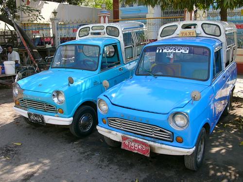 Myanmar (Burma) Taxi (Mazada)