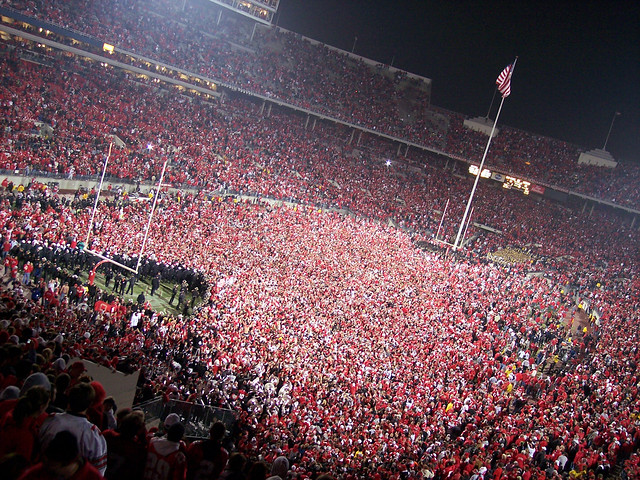 Rushing the Field