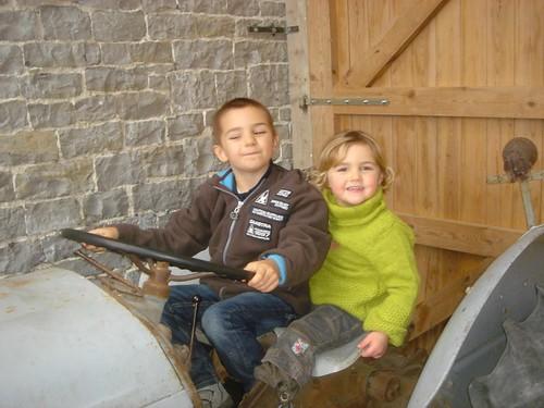 Ruben, Julie & Traktor