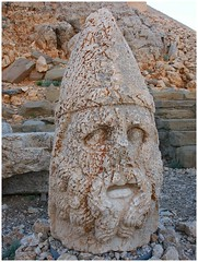 The mausoleum of Antiochus I - Mt. Nemrut / Nemrut Dagi