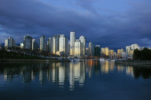 False Creek just after sundown
