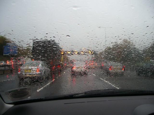 Rain on the M40