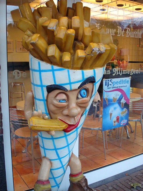 when you eat too many fries