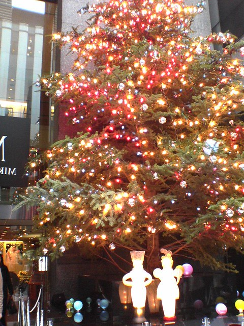 Christmas Tree in Ginza