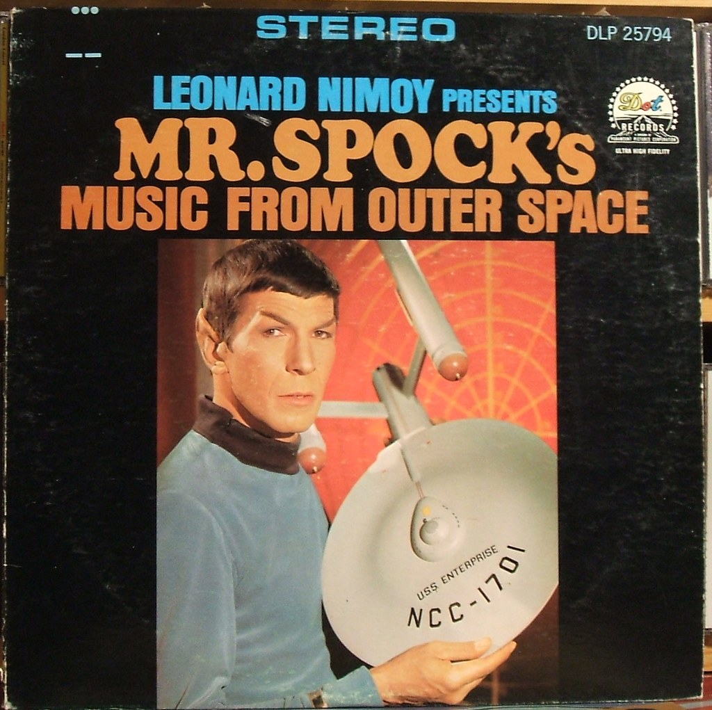 Leonard Nimoy - Mr Spock's Music From Outer Space