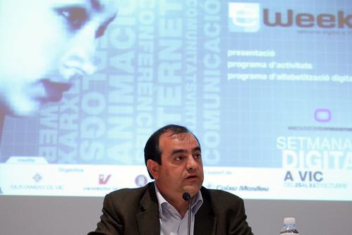 Ramon Barlam a la conferència inaugural 2004