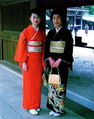 Meiji Temple Mother & Daughter