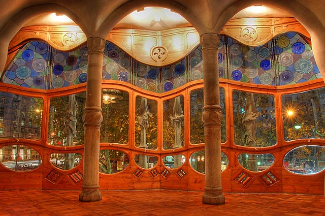 Gaudi's Casa Batllo - Inside-out View | Flickr - Photo ...