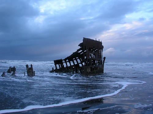 Old Ship Wreck, Oregon Coast