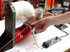 Homopolar motor at the Exploratorium