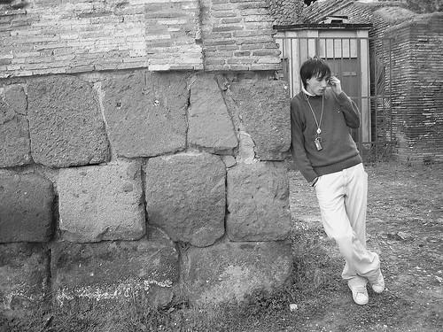 Roma 2006 - Casual Guy In Ostia