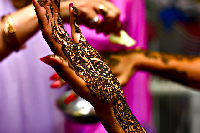 Mehndi Night Photography : Henna night bride flickr photo sharing