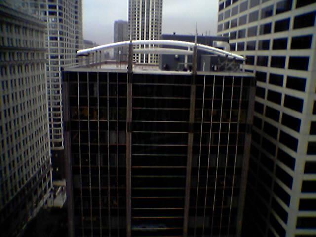 Water slide arrives on downtown building